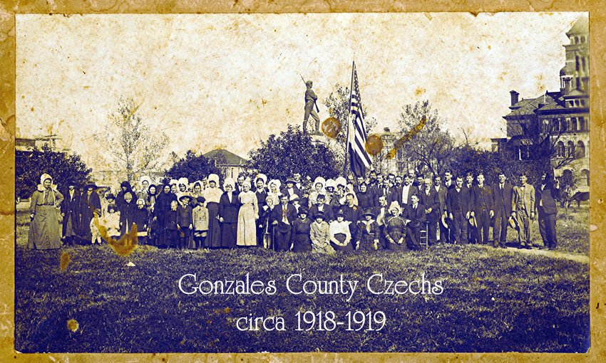 Tens of thousands of men from all across America signed up to fight in World War I, and men in Gonzales were no different. Many of the men from this area with Bohemian signed up to fight and marched off to war overseas in 1917 and 1918.