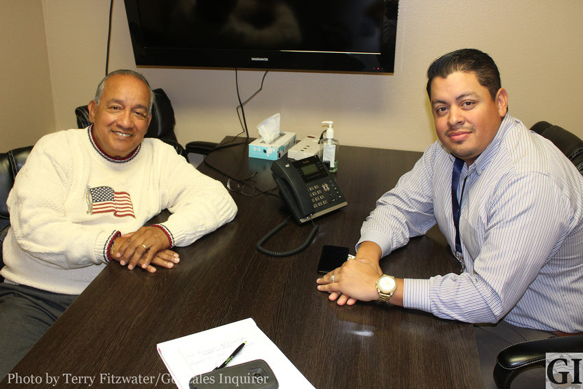 For the past 11 years, Henry Salas (left) has served as the CEO of the Community Health Centers of South Central Texas (CHCSCT). When he retires this week, Rafael De La Paz (right) will replace him.