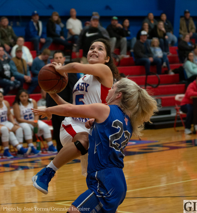 Nixon-Smiley's win over Yoakum on Friday have the Lady Mustangs in contention for a playoff spot.