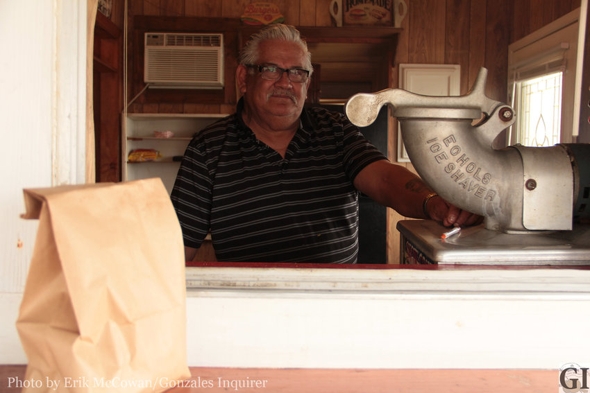 Romeo Ortiz cooks up one of the best cheeseburgers you'll find around these parts.
