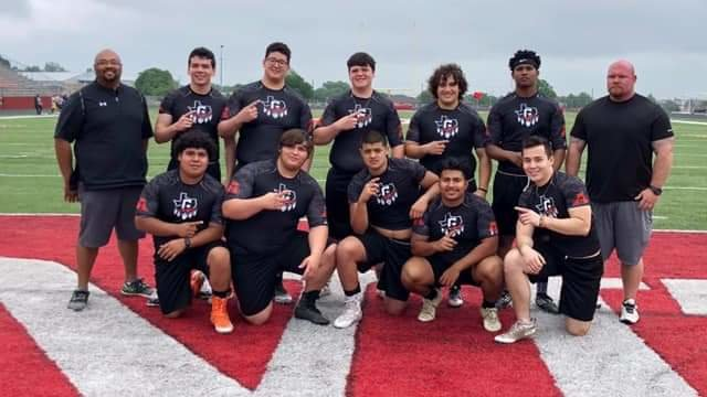 The Gonzales Apaches participated in Fredericksburg's Battlin' Billie Lineman Challenge and placed second to the hosts, beating out teams like Navarro, Burnet and Wimberley.