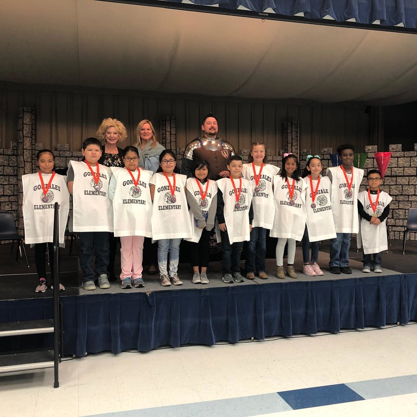 The Rotary Club of Gonzales' Early Act First Knight program is an exciting program that promotes chivalry and other core values to elementary school aged students. Now in its fourth year, Rotarians are asking the community for support of its program.