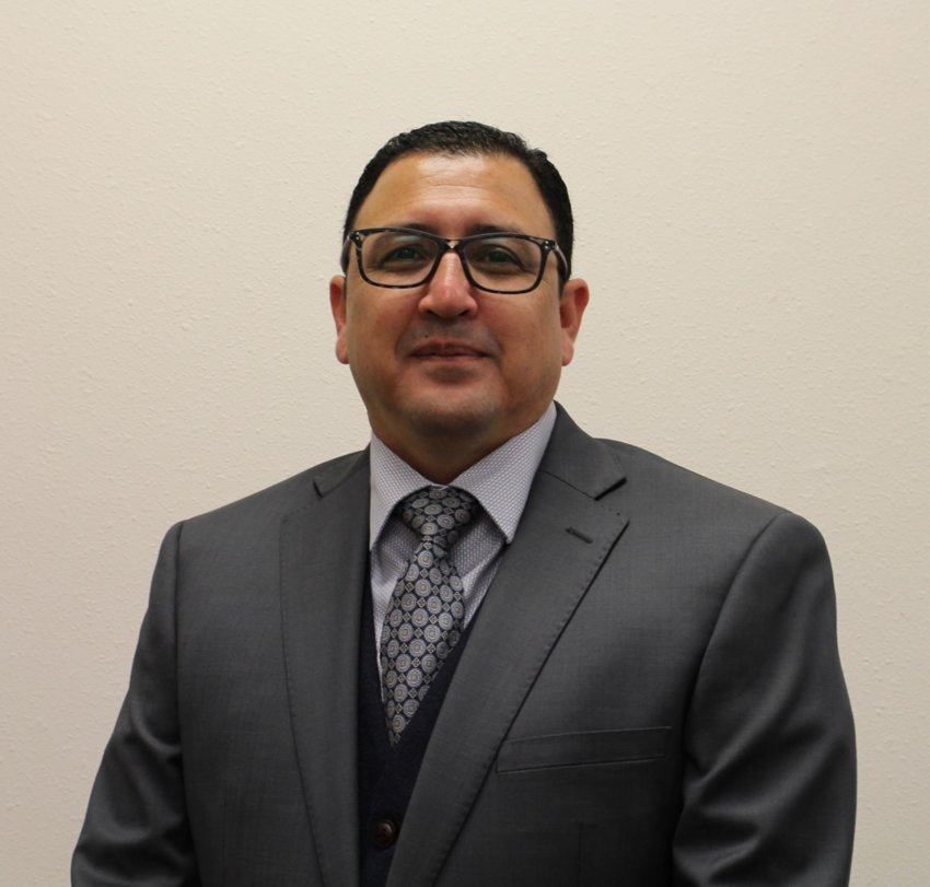 New Gonzales High School principal Michael Garza.