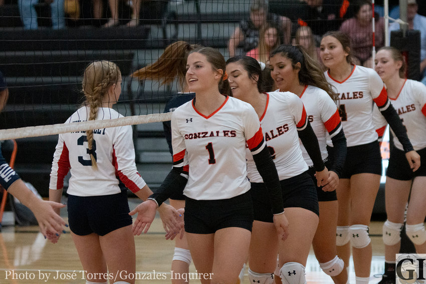 Gonzales held their first home game in the newly renovated gym last Friday against Wimberley, losing (25-12, 25-12, 25-15).