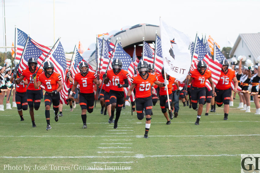 The Gonzales Apaches travel to Austin where they face the Crockett Cougars Friday, Sept. 6 at 7:30 p.m.