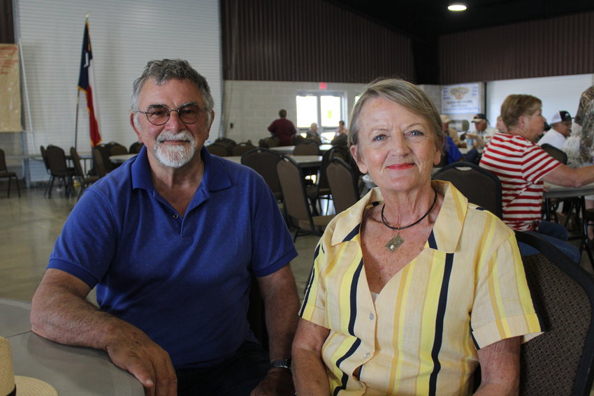 Jane and John Burn, a happily married couple from the great country of Australia, were in town that week to check out Gonzales and test real Texas barbecue. They were selected as judges for the spare rib competition and the chili finals..