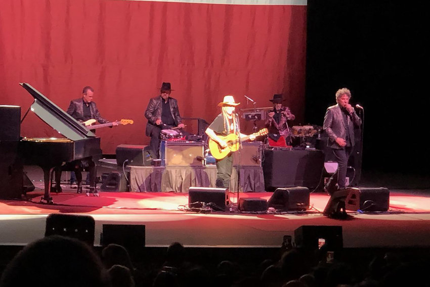 There wasn't a dry eye in the concert after Willie Nelson's powerful and moving performance last weekend.