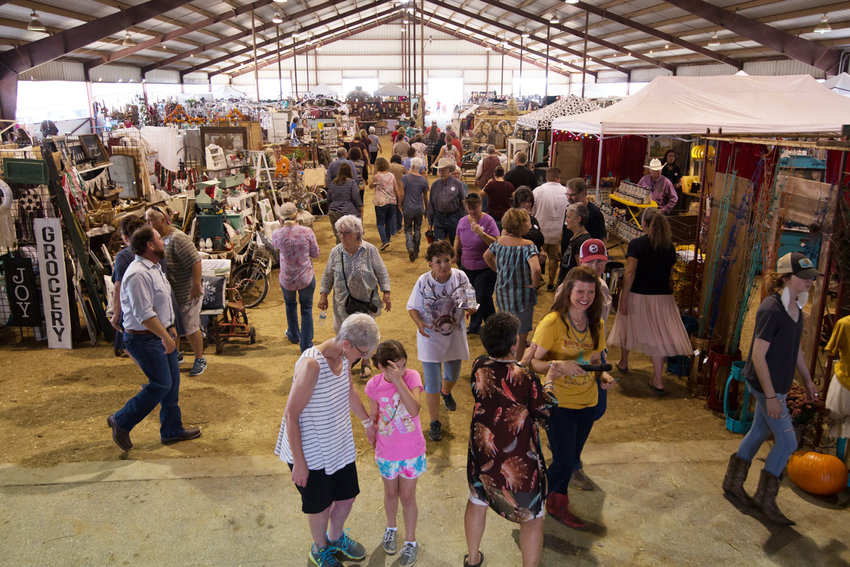 Patrons from all over the state venture to Gonzales for Rusted Gingham's annual barn sale. This year's event kicks off at 4 p.m. Nov. 2 at the J.B. Wells Show Barn.