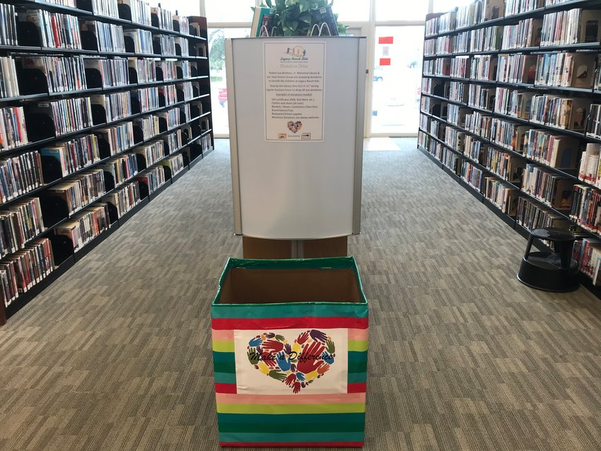 The Gonzales Public Library Teen Action Group is seeking donations for kids in need. Look for the donation box near the front entrance of the Robert Lee Brothers Jr. Memorial Library.