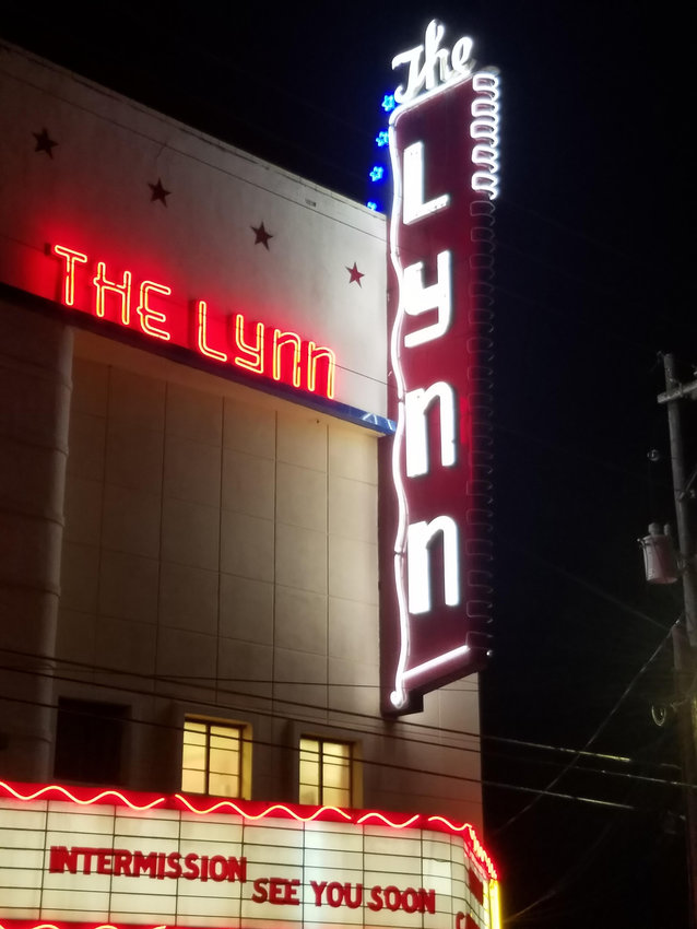 The Lynn Theater's iconic sign is a reminder to downtown Gonzales that business isn't closing, they're just in intermission. The Lynn is one of many businesses have to change their strategies to stay afloat during the COVID-19 pandemic.