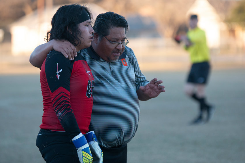 Head boys soccer coach Greg Ramirez ends his career with the Gonzales Apaches with a 101-20-8 overall record. As the program's inaugural coach, Ramirez led the team to multiple district titles as well as regional tournament appearances.