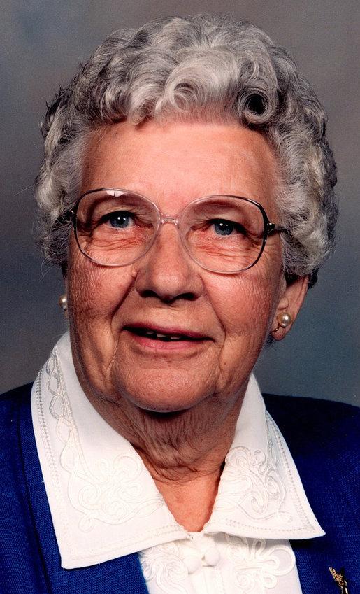 Velma Louise Augusta Kirchoff Marek
