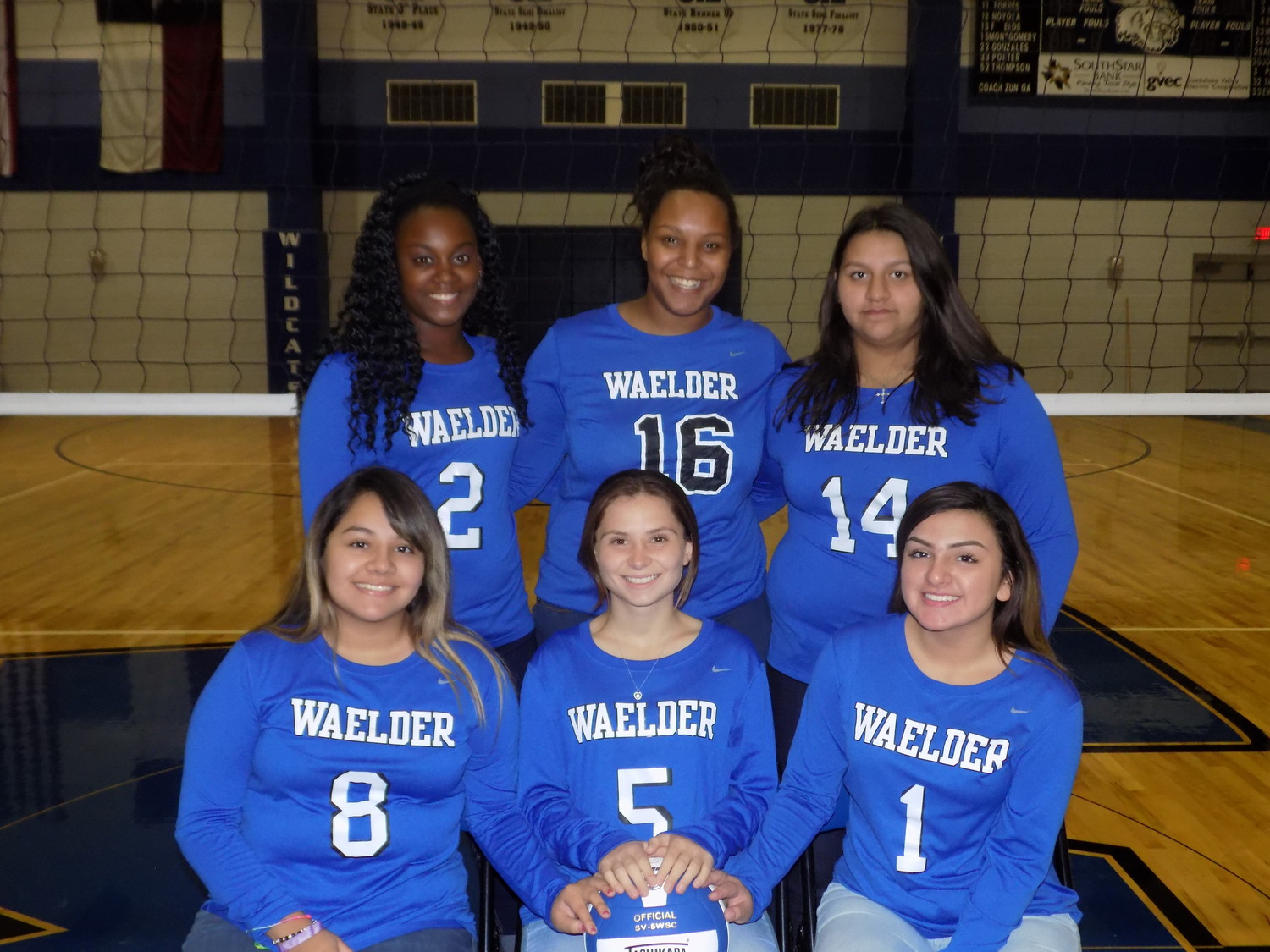 The Waelder Lady Wildcats had an impressive season, coming out of District 26-1A as champions. Many athletes won all-district honors. Pictured is the junior varsity team.