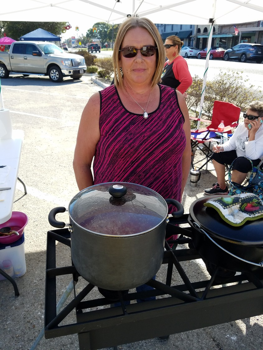 The judges declared Mary Ann Pullin's beans to be the best on Saturday at the Winterfest Chili and Bean Cook-Off.