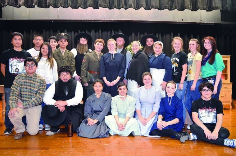 Gonzales One-Act Play cast wins district at UIL contest