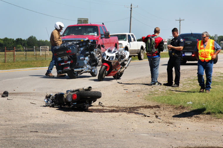 Gruesome accident on 183 sends man to hospital   The Gonzales Inquirer