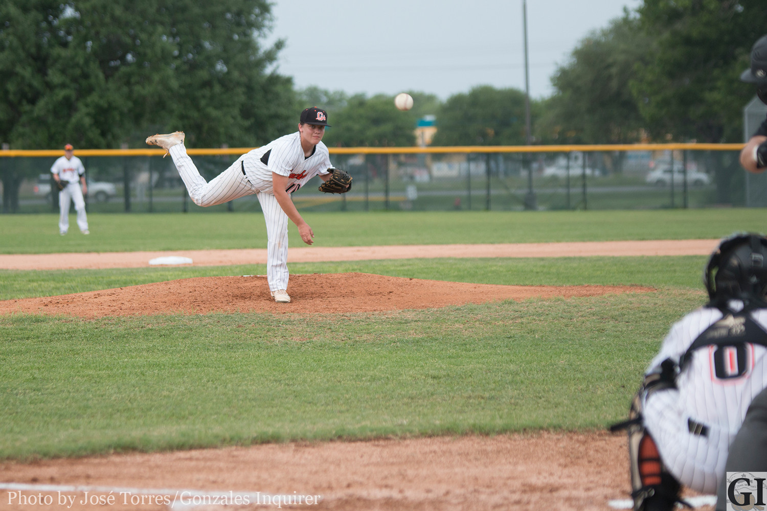 "Tanner Blundell pitched all five innings, striking out nine and walking five in the no-hitter last Friday. The sophomore faced 10 batters in the first three innings before having to ""work through"" the final two innings, head coach Lance Alford said."