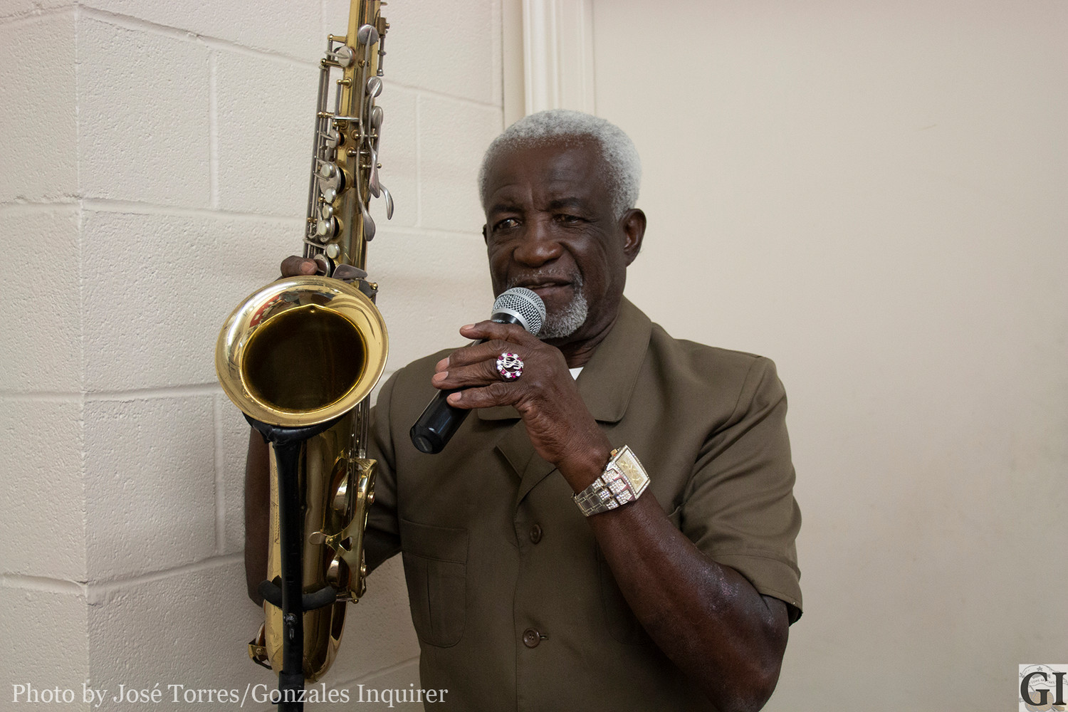 Legendary saxophone artist O.S. Grant will be performing the David Stewart Trucking Stage in Gonzales to kick off the Kenneth Stewart Trucking VIP Night at the Gonzales Inquirer's Craft Beer Festival on Confederate Square.