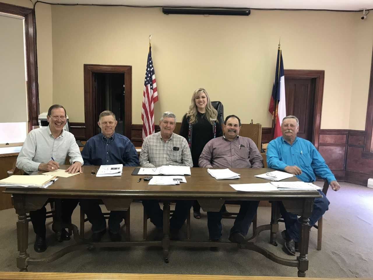 Gonzales County commissioners signed a proclamation Monday urging citizens to take a moment to get involved with their local nursing homes.