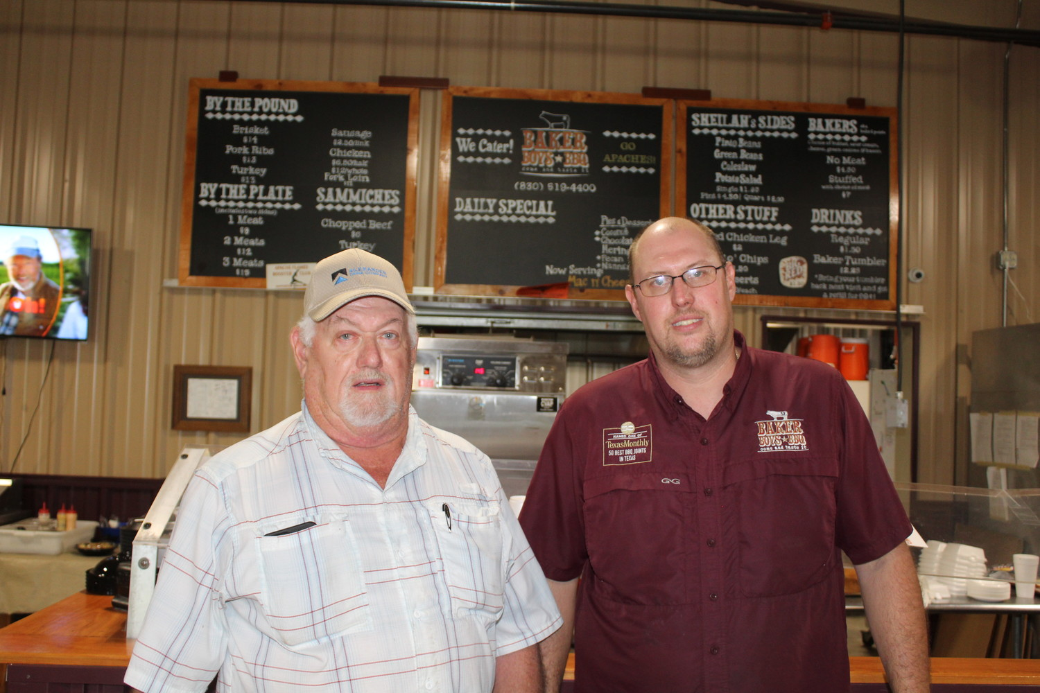 Baker Boys owners Phil (left) and Wayne Baker.