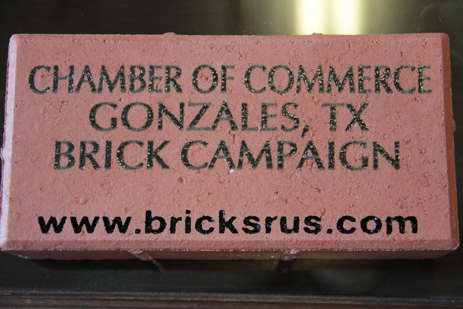 The chamber looks to start a fundraising campaign by selling bricks that will adorn their new sidewalk.