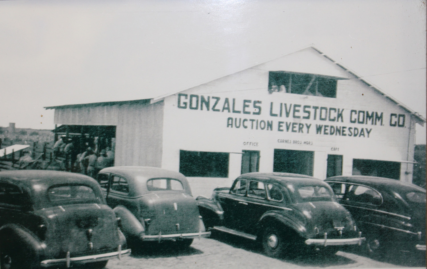 The original auction house was opened in 1940. Here is a picture of the operation circa 1940.