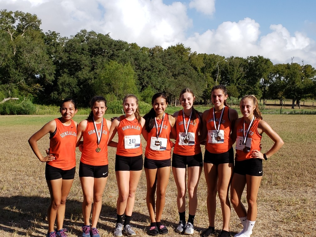 Gonzales was just one of many area schools that competed in the Moulton cross-country meet last weekend. The Lady Apaches finished second in the 3A-6A race.
