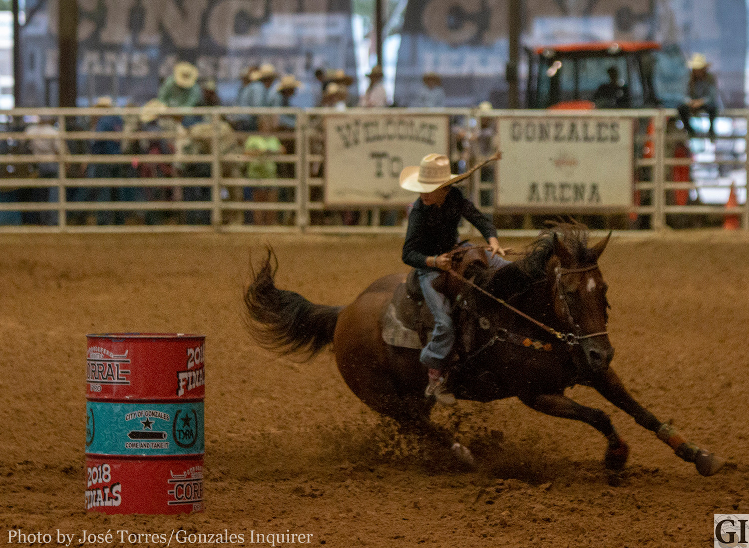 The Texas Junior High Rodeo Association's state finals is just one of many events booked at JB Wells.