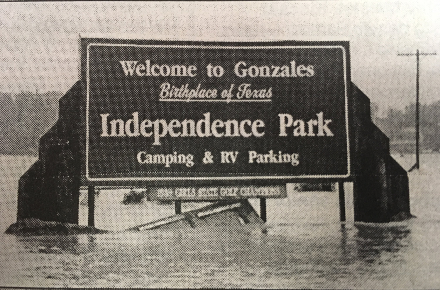 Scenes from around Gonzales after the record breaking flood experienced here on Oct. 18, 1998.