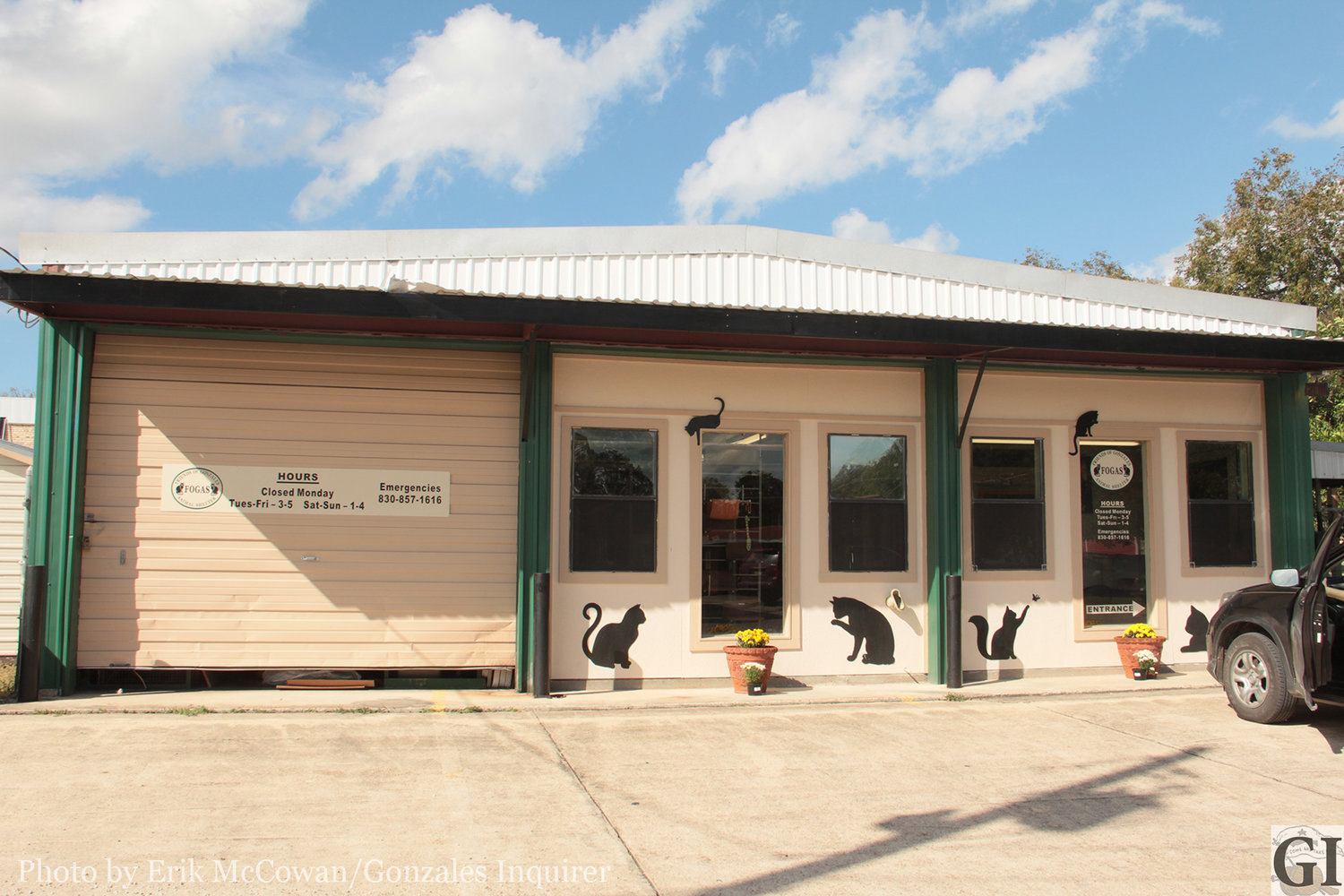 The Friends of Gonzales Animal Shelter has received some needed improvements thanks to generous volunteers, such as a new paint and signage to make the place more noticeable.