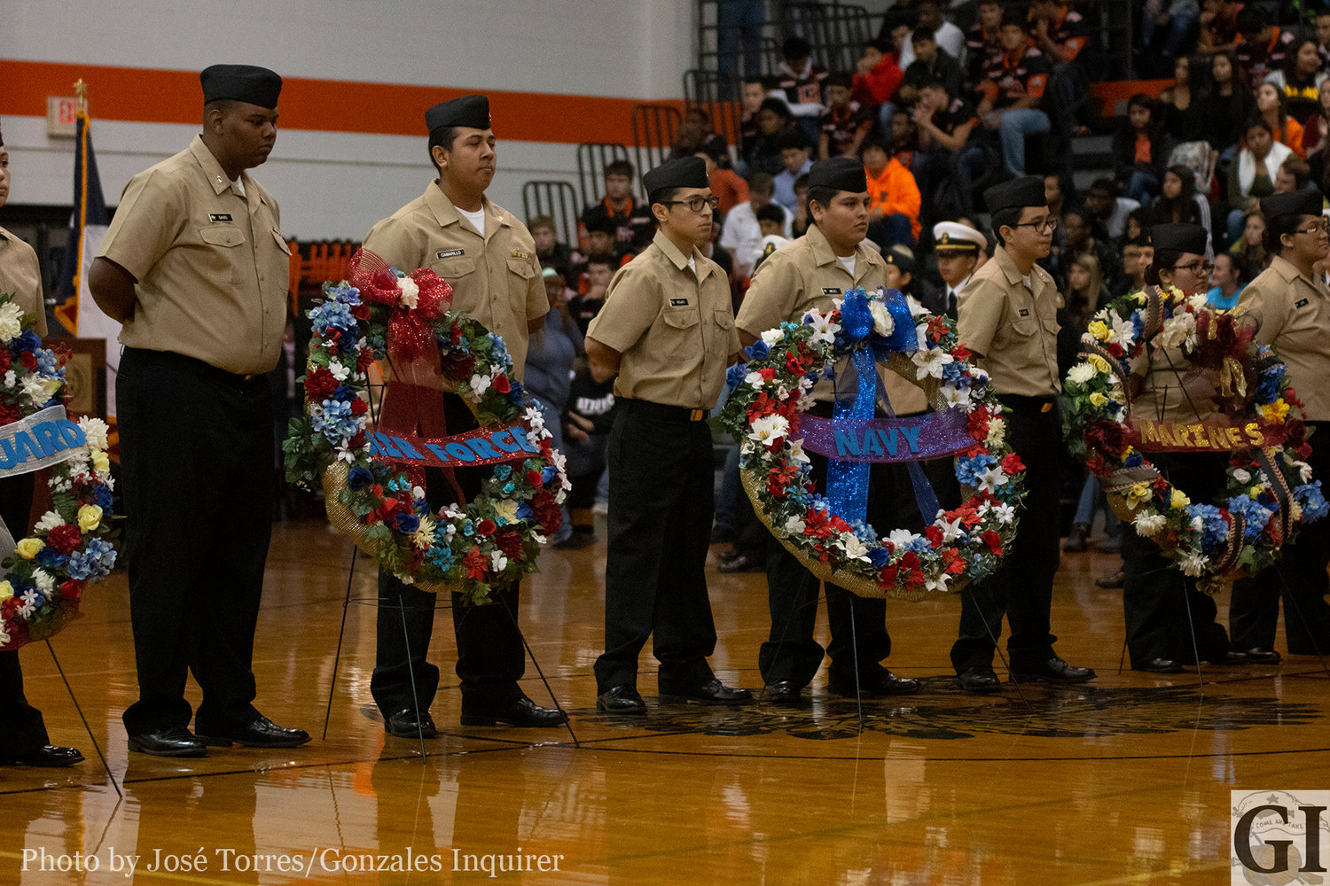Gonzales ISD will host a Veterans Day celebration at the high school gym on Friday at 9:30 a.m.