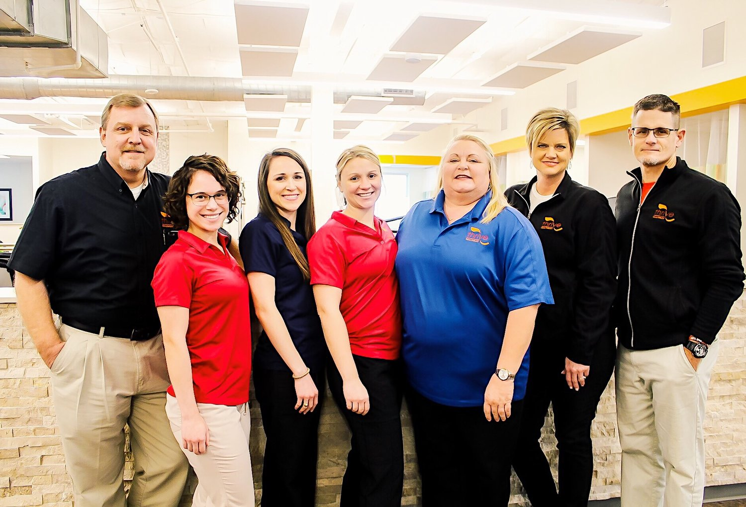 Members of the physical therapy team from Thrive are among the best in South Central Texas.