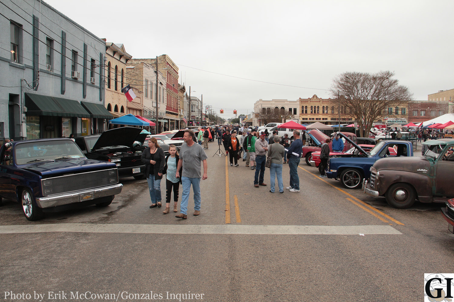 Though the expected number of cars and spectators were off by initial predictions, those that attended the Hot Rods and Hatters Car Show downtown on Saturday were treated to some sweet rides, live music, and various vendors.