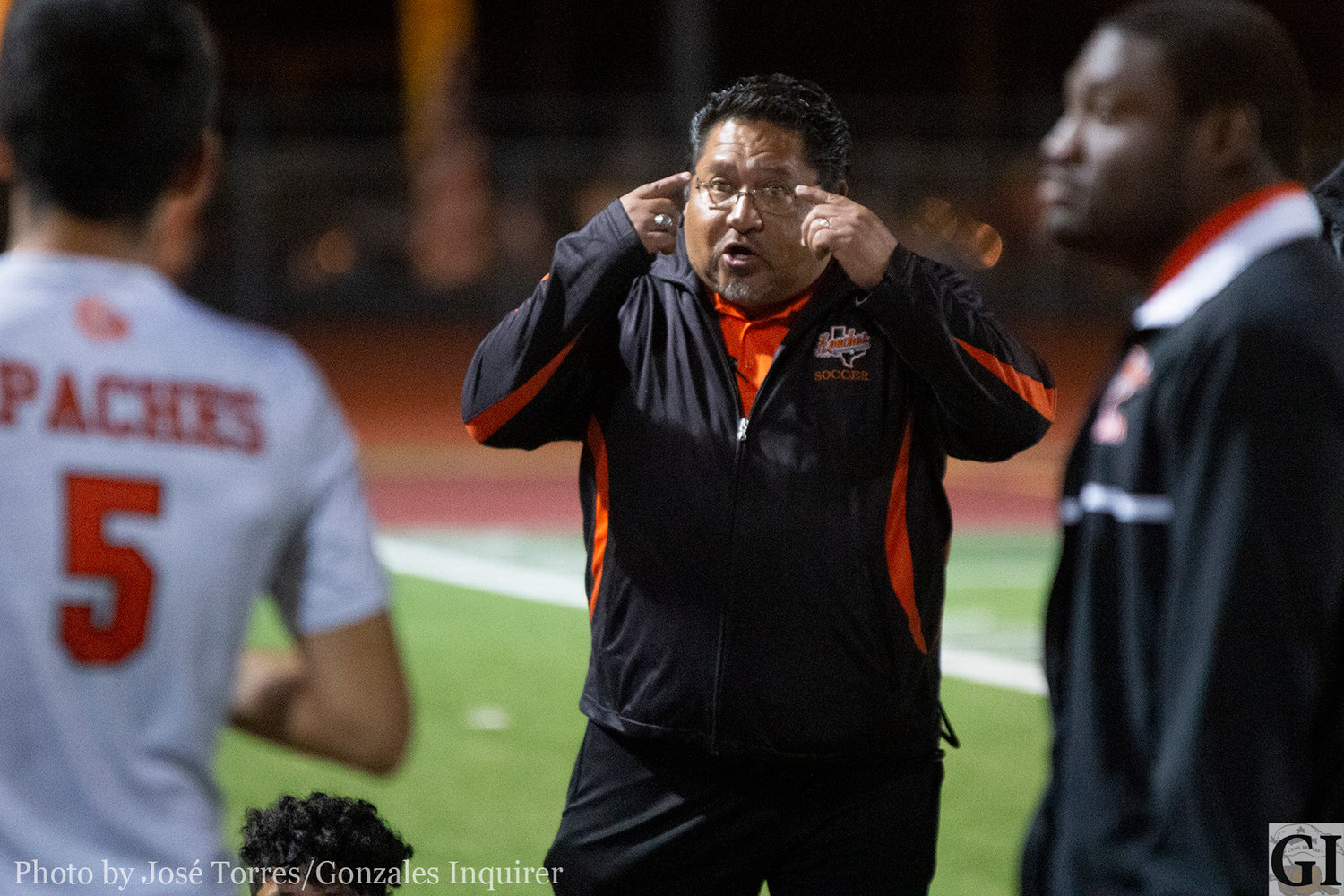 Head coach Greg Ramirez and his Gonzales Apaches soccer team is back in the regional tournament. This will be the team's second trip to McAllen, first since the 2015-16 season in Gonzales' five seasons of existence.