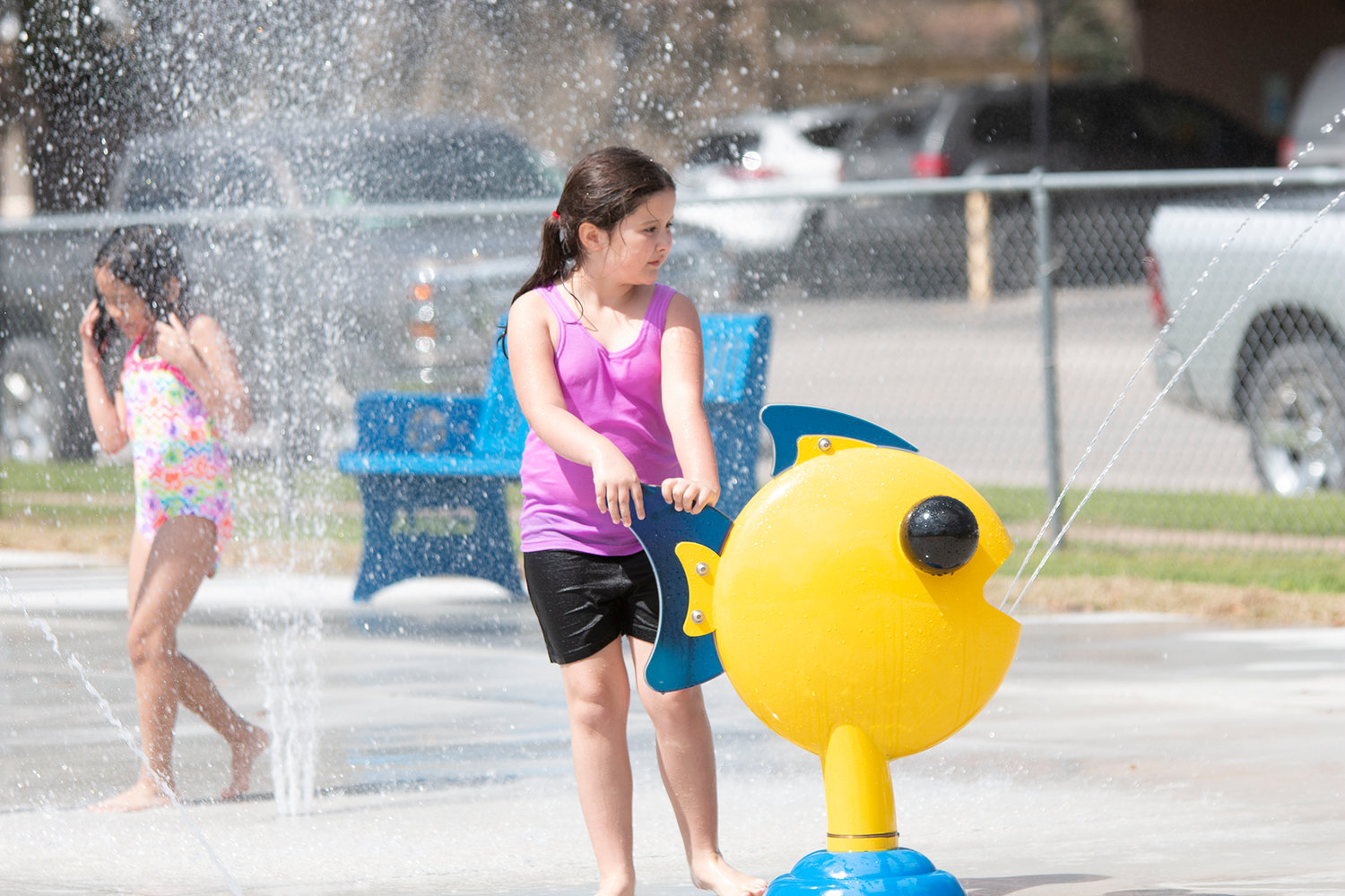 Nixon moved one step closer to having its own splash pad much like the one in Gonzales pictured above.