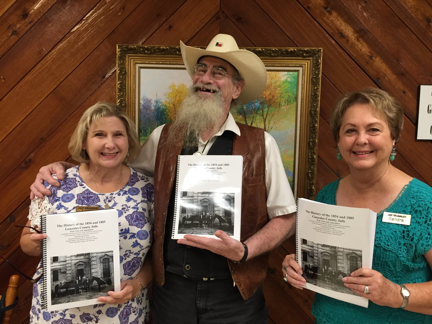 "A collaborative effort four years in the making, ""The History of the 1854 and 1885 Gonzales County Jails"" details both sides of life inside the former Gonzales County jails."