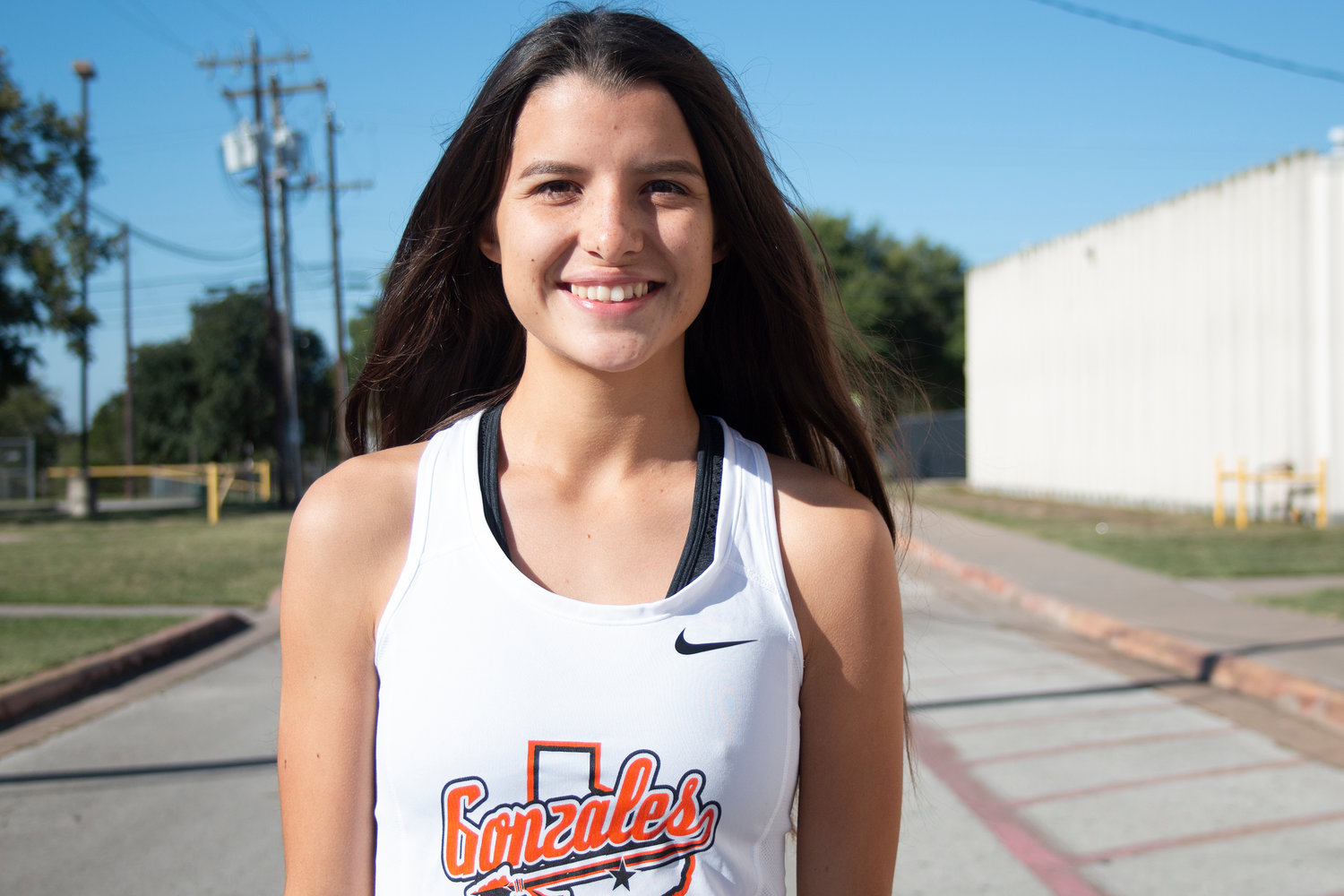 Veronica Moreno has her eyes set at a top-10 finish at the UIL Class 4A Girls Cross-Country state meet.