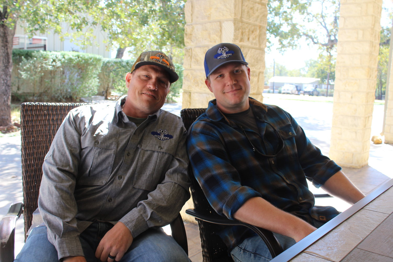 10-7 Outdoors founders Kris Caldwell and Justin Leathers believed they could make a difference helping children of men and women who have fallen in the line of duty by mentoring the officer's child or children through hunting and fishing trips.