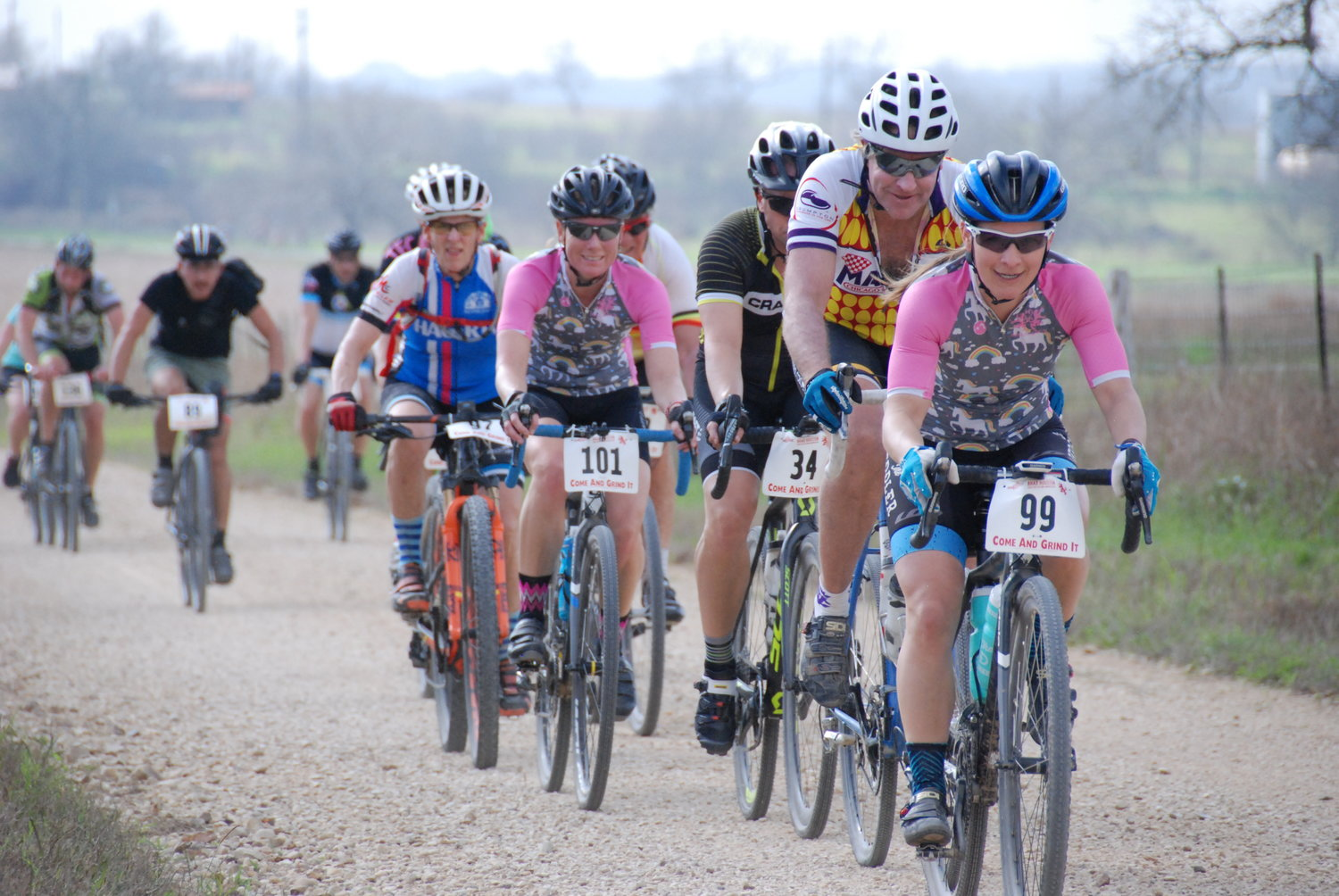 Come and Grind It is back for a fourth time in Leesville this Saturday. Participation in the gravel road cycling event has grown since its inception in 2017.