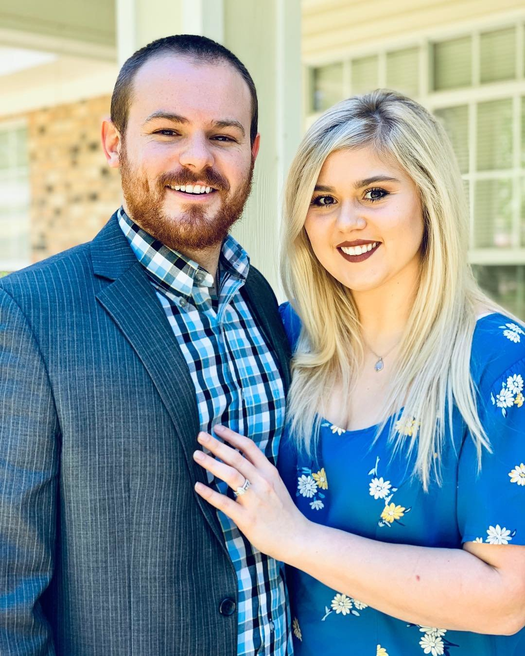 "Pictured are Beaux Gipson, the new quarterbacks coach for the Gonzales Apaches, and his wife Christian, who he says has been ""a phenomenal supporter throughout my coaching career."""