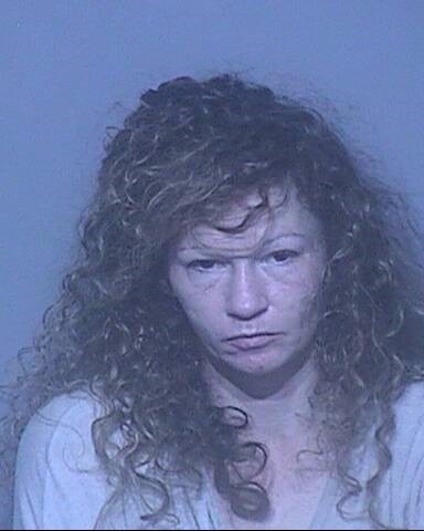 Vickie Lynn Patterson of Foley was arrested for possession of a controlled substance and possession of drug paraphernalia.