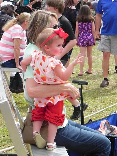Attendees at the 2019 Baldwin County Strawberry Festival. After being cancelled in 2020 over Coronavirus concerns, the festival has once again been cancelled for 2021.