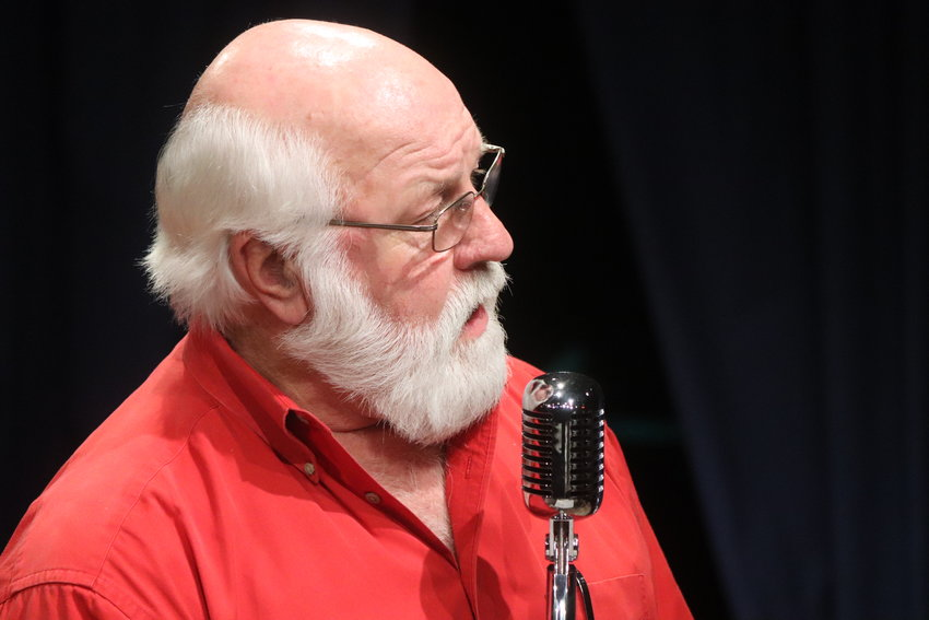 Kris Kringle plays himself in Theatre 98's production of Miracle on 34th Street.