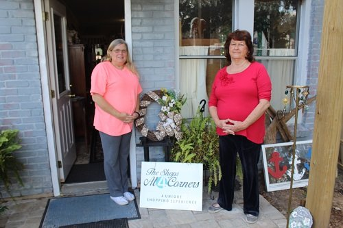 Owners Beth Lazzari, Phyllis Hall and (not pictured) Patricia Pierotti offer a wide variety of gift items at The Shops at Four Corners, on the corner of Alabama 59 and County Road 54 in Robertsdale.