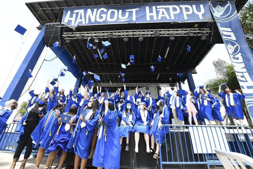 The Alabama School of Math and Science (ASMS) hosted their senior graduation ceremony at The Hangout Friday, May 22.