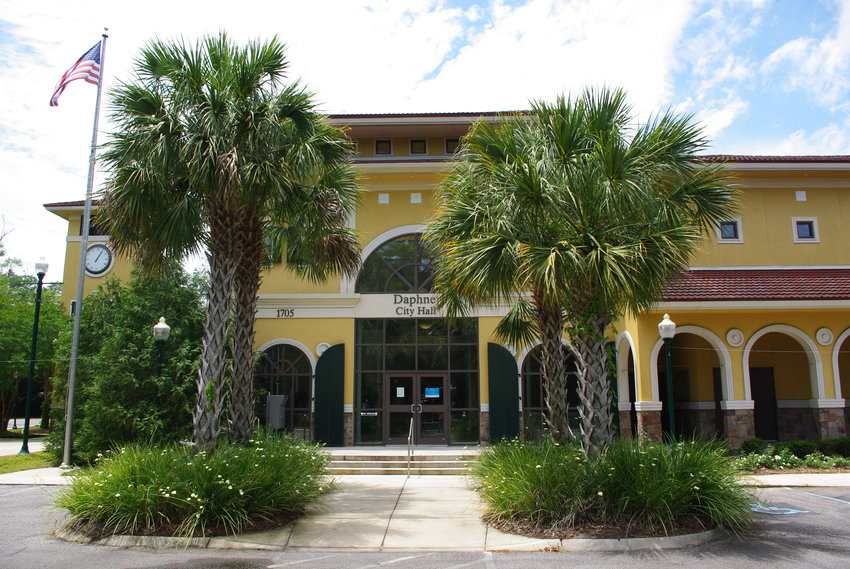 Face masks are now required at Daphne City Hall and other municipal buildings.
