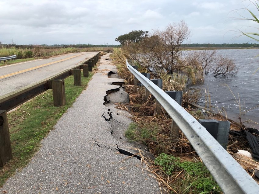 Repairs to the trail along State Park Road (formerly Hwy 135) began Monday and will require closure of this road Wednesday through Friday, Oct. 14 – 16, from 8 a.m. to 5:30 p.m. daily. As an alternate route, please take Hwy 59 to East Beach Blvd (Hwy 182).