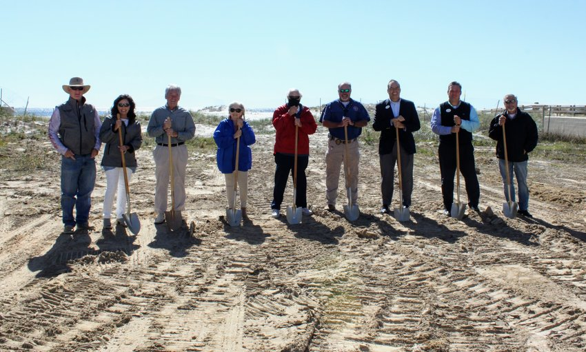The long-awaited groundbreaking for Perdido Dunes Tower took place Nov. 2.