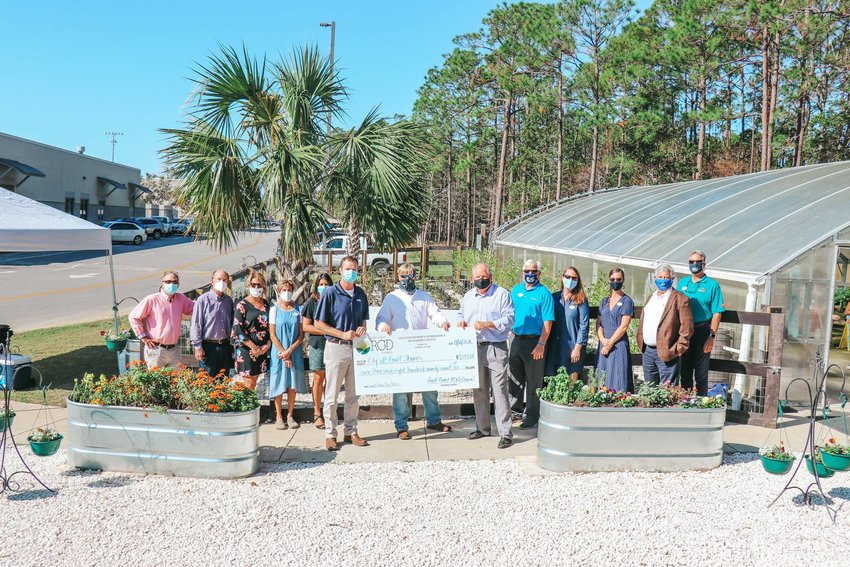 The Small Town, Big Trees project is a joint effort between the City of Gulf Shores, the Gulf Shores Beautification Board, Gulf Shores City Schools and the Gulf Coast Resource Conservation and Development Council.