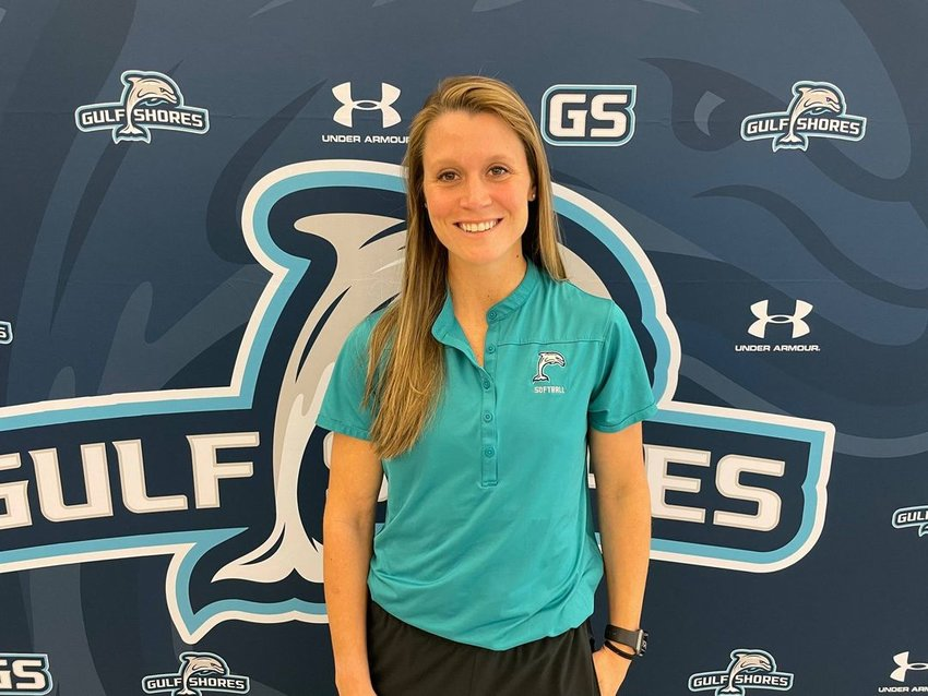 Gulf Shores Lady Dolphins softball team welcomes Haley Hopkins-Steege as new head coach.